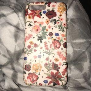Velvet Cavier iPhone plus case